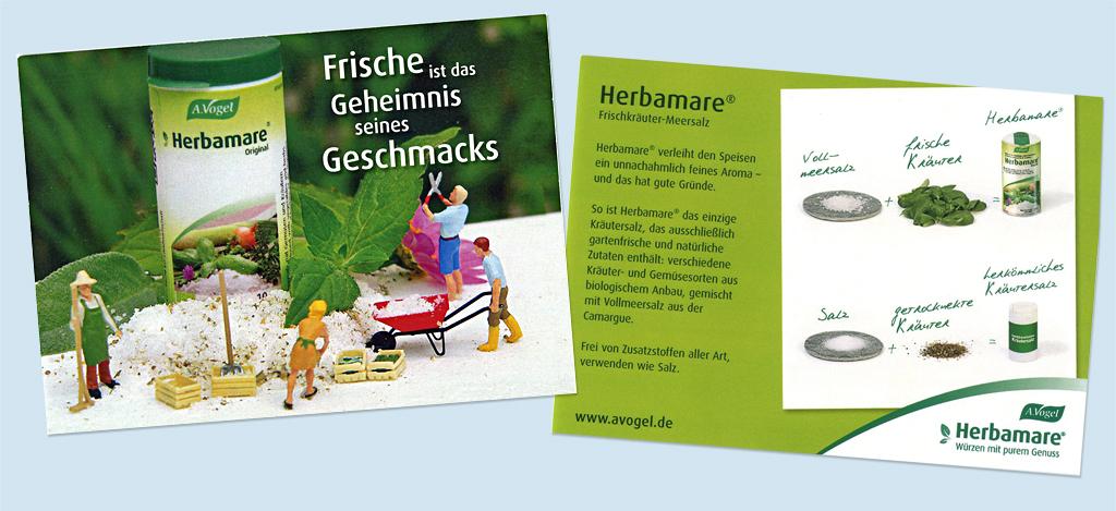 Herbamare Postkarte