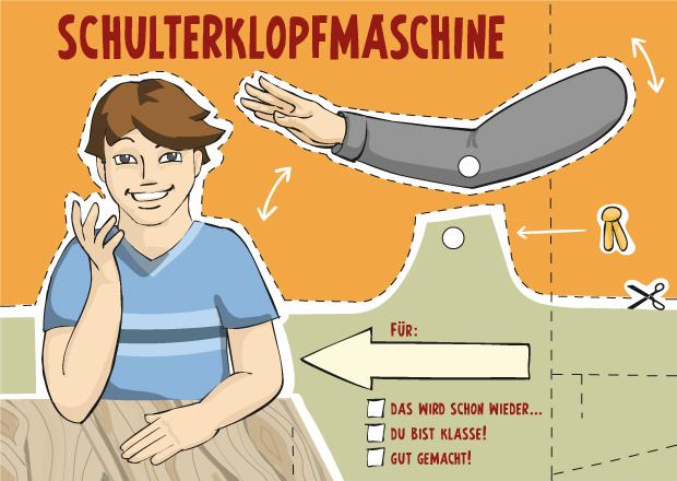 Schulterklopfmaschine