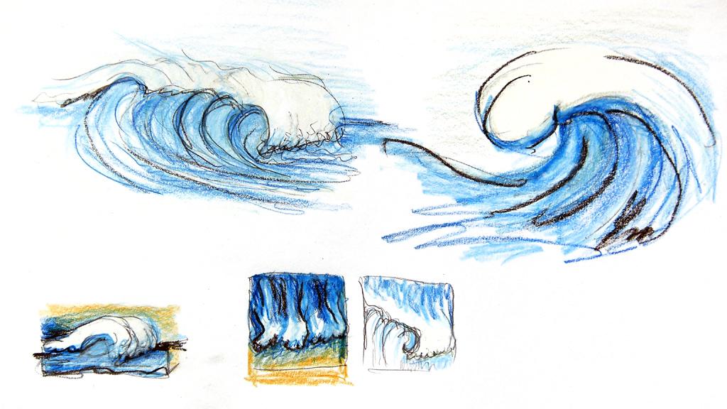 Wellen Entwurf